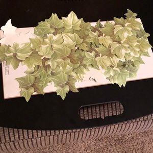 Ivy Wallies for Decorating plain walls